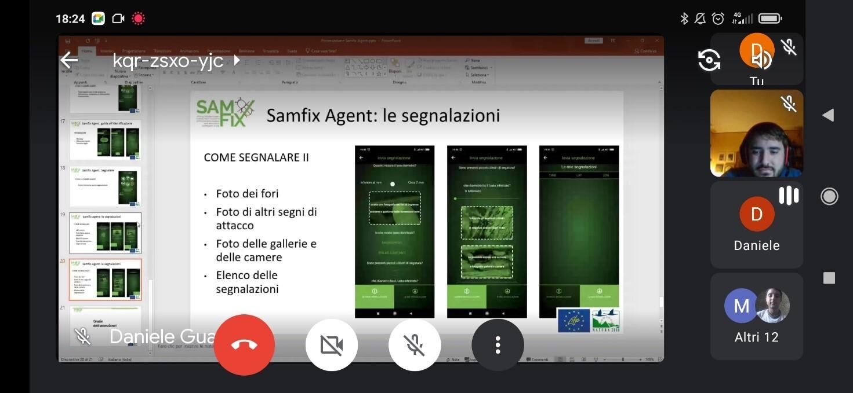 The Lazio trekking guides become Samfix Agent!