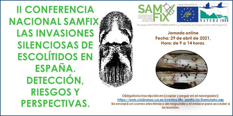 2º CONFERENCIA NACIONAL DEL PROYECTO LIFE SAMFIX
